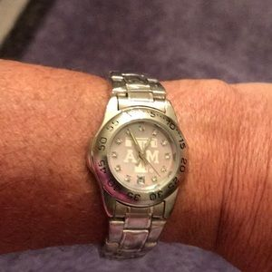 Accessories - Texas A & M silver watch